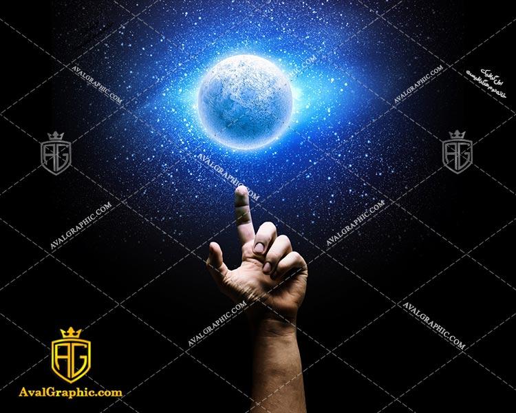 عکس با کیفیت ماه زیبا مناسب برای طراحی و چاپ - عکس ماه زیبا - تصویر ماه زیبا - شاتر استوک ماه زیبا - شاتراستوک ماه زیبا