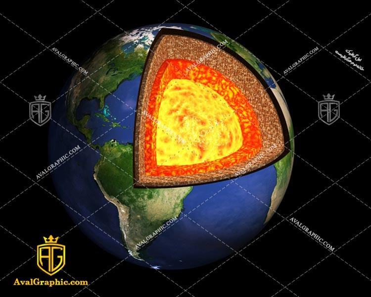 عکس با کیفیت داخل کره زمین مناسب برای طراحی و چاپ - عکس زمین - تصویر زمین - شاتر استوک زمین - شاتراستوک زمین