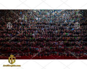 عکس با کیفیت زائران حسینی مناسب برای طراحی و چاپ - عکس زائران حسینی- تصویر اربعین- شاتر استوک پیاده روی- شاتراستوک کربلا