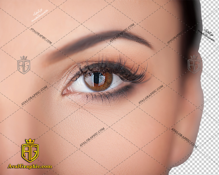 png چشم قهوه ای , پی ان جی چشم , دوربری چشم , عکس چشم با زمینه شفاف, چشم با فرمت png