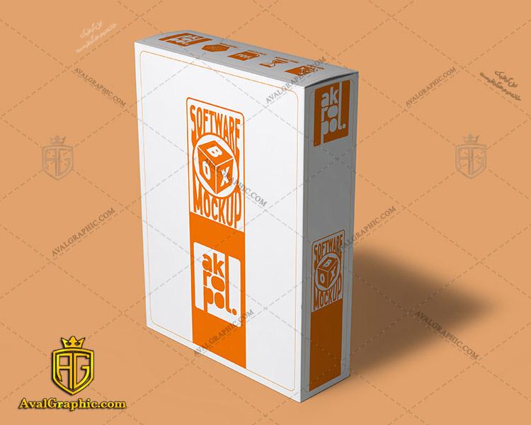 موکاپ باکس نرم افزار دانلود موکاپ جعبه , موکاپ لایه باز جعبه , موکاپ گرافیکی باکس , فایل موکاپ باکس