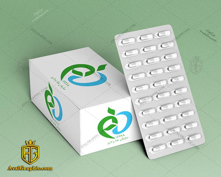 موکاپ جعبه دارو دانلود موکاپ جعبه , موکاپ لایه باز جعبه , موکاپ گرافیکی باکس , فایل موکاپ باکس