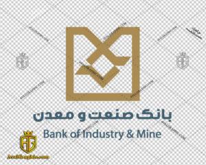 لوگو بانک صنعت و معدن دانلود لوگو بانک , نماد بانک , آرم بانک مناسب برای استفاده در طراحی های شما