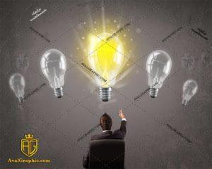 عکس با کیفیت لامپ های بزرگ مناسب برای طراحی و چاپ - عکس لامپ - تصویر لامپ - شاتر استوک لامپ - شاتراستوک لامپ