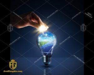 عکس با کیفیت لامپ شیشه ای مناسب برای طراحی و چاپ - عکس لامپ - تصویر لامپ - شاتر استوک لامپ - شاتراستوک لامپ