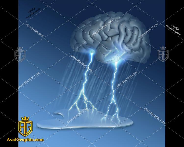 عکس با کیفیت بارش مغز مناسب برای طراحی و چاپ می باشد - عکس مغز - تصویر مغز - شاتر استوک مغز - شاتراستوک مغز
