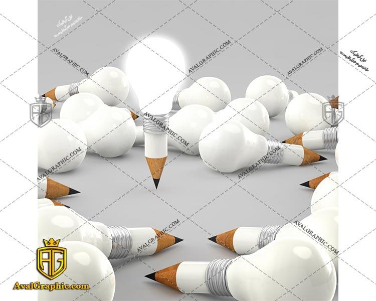 عکس با کیفیت لامپ مدادی مناسب برای طراحی و چاپ - عکس لامپ - تصویر لامپ - شاتر استوک لامپ - شاتراستوک لامپ