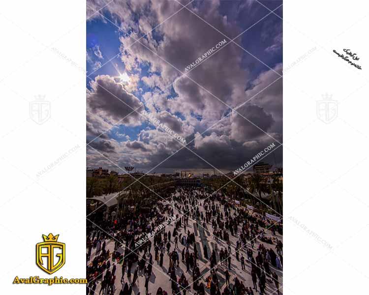 عکس بین الحرمین رایگان مناسب برای چاپ و طراحی با رزو ۳۰۰ - شاتر استوک حرم حضرت عباس- عکس با کیفیت محرم- تصویر محرمی- شاتراستوک حضرت عباس