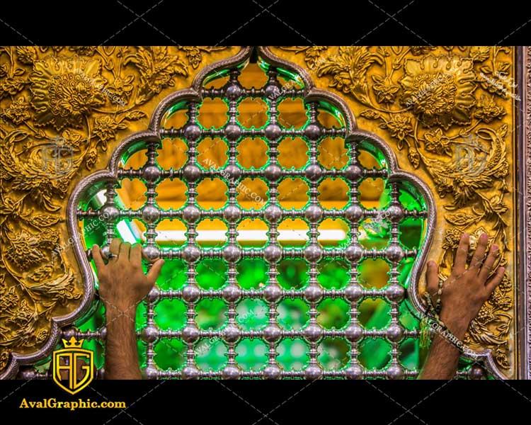 عکس با کیفیت پنجره ضریح حضرت عباس مناسب برای طراحی و چاپ - عکس محرم - تصویر محرم - شاتر استوک محرم - شاتراستوک محرم