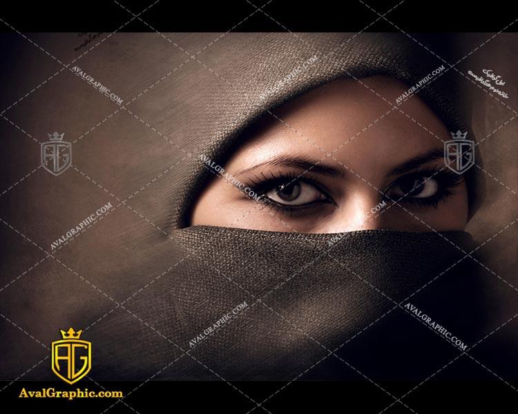 عکس با کیفیت روسری کنفی مناسب برای طراحی و چاپ - عکس روسری - تصویر روسری - شاتر استوک روسری - شاتراستوک روسری