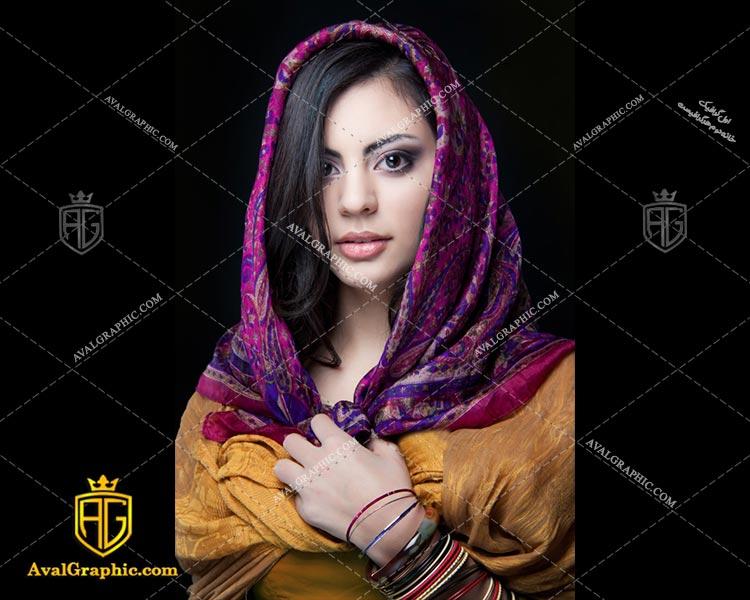 عکس با کیفیت روسری زیبا مناسب برای طراحی و چاپ - عکس روسری - تصویر روسری - شاتر استوک روسری - شاتراستوک روسری