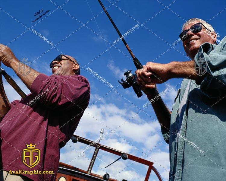 عکس ماهیگیران خندان رایگان مناسب برای چاپ و طراحی با رزو 300 - شاتر استوک ماهیگیر- عکس با کیفیت ماهیگیر- تصویر ماهیگیر- شاتراستوک ماهیگیر