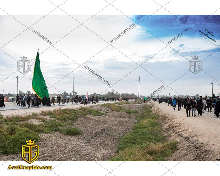 عکس پیاده روی اربعین حسینی رایگان مناسب برای چاپ و طراحی با رزو 300 - شاتر استوک پیاده روی - عکس با کیفیت پیاده روی - تصویر پیاده روی - شاتراستوک پیاده روی