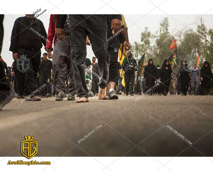 عکس زائران پیاده روی اربعین رایگان مناسب برای چاپ و طراحی با رزو 300 - شاتر استوک پیاده روی - عکس با کیفیت پیاده روی - تصویر پیاده روی - شاتراستوک پیاده روی