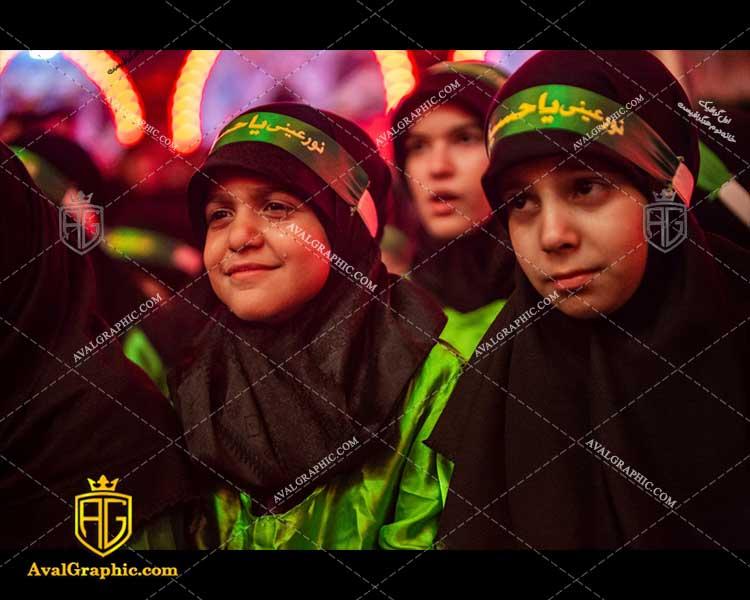 عکس با کیفیت عزاداران نوجوان امام حسین مناسب برای طراحی و چاپ - عکس شیرخوارگان- تصویر شیرخوارگان- شاتر استوک شیرخوارگان- شاتراستوک شیرخوارگان