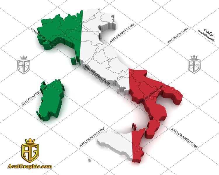 عکس با کیفیت نقشه ایتالیا مناسب برای طراحی و چاپ - عکس نقشه - تصویر نقشه - شاتر استوک نقشه - شاتراستوک نقشه