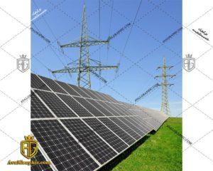عکس با کیفیت صفحات خورشیدی مناسب برای طراحی و چاپ - عکس خورشید - تصویر خورشید - شاتر استوک خورشید - شاتراستوک خورشید