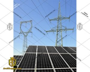 عکس با کیفیت پانل های خورشیدی مناسب برای طراحی و چاپ - عکس خورشید - تصویر خورشید - شاتر استوک خورشید - شاتراستوک خورشید