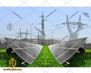 عکس با کیفیت نیروگاه خورشیدی مناسب برای طراحی و چاپ - عکس نیروگاه - تصویر نیروگاه - شاتر استوک نیروگاه - شاتراستوک نیروگاه
