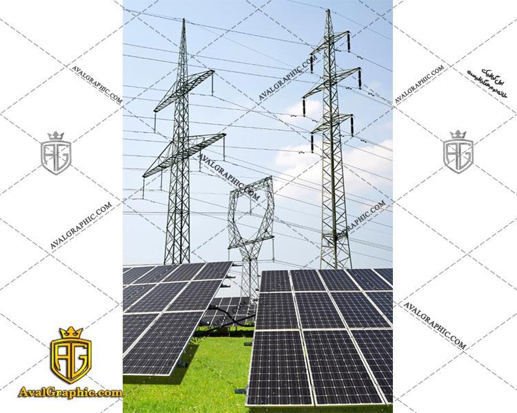عکس با کیفیت پنل های خورشیدی بزرگ مناسب برای طراحی و چاپ - عکس پنل - تصویر پنل - شاتر استوک پنل - شاتراستوک پنل