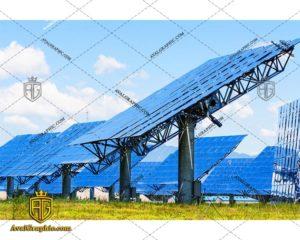 عکس با کیفیت پنل های خورشیدی آبی مناسب برای طراحی و چاپ - عکس پنل - تصویر پنل - شاتر استوک پنل - شاتراستوک پنل