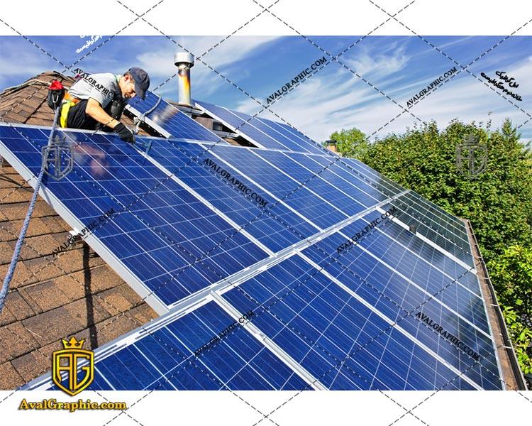 عکس با کیفیت پنل خورشیدی خانگی مناسب برای طراحی و چاپ - عکس پنل - تصویر پنل - شاتر استوک پنل - شاتراستوک پنل
