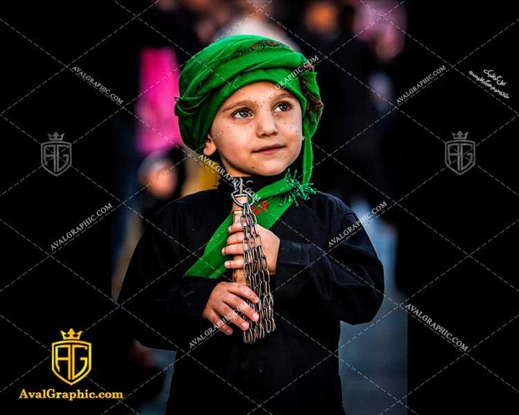 عکس با کیفیت کودک شیعه زنجیر زن مناسب برای طراحی و چاپ - عکس زنجیر زنی- تصویر زنجیر زنی- شاتر استوک زنجیر زنی- شاتراستوک زنجیر زنی