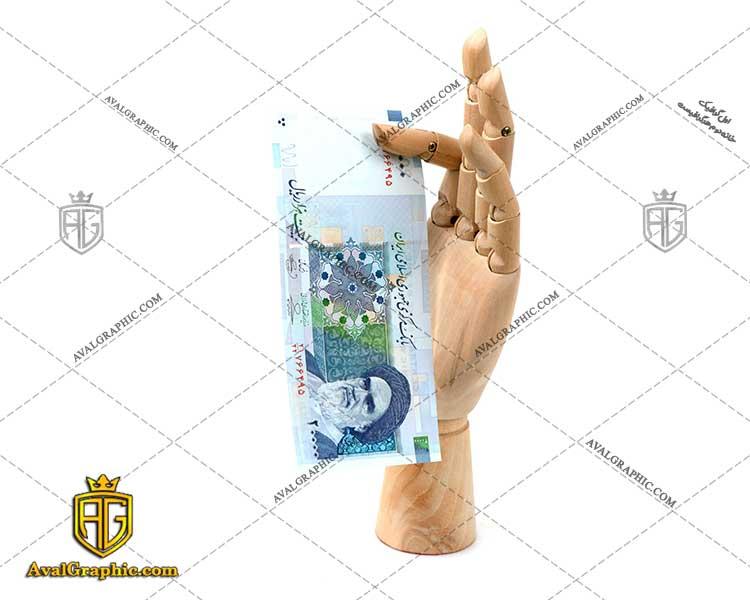 عکس با کیفیت اسکناس آبی بیست هزار ریالی مناسب برای طراحی و چاپ کیسه پول است- عکس پول - تصویر پول - شاتر استوک پول - شاتراستوک پول