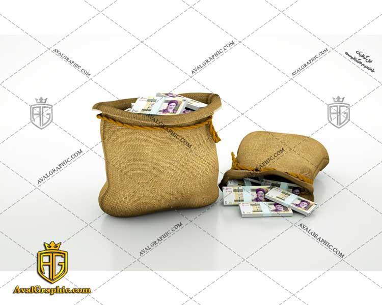 عکس با کیفیت کیسه پول مناسب برای طراحی و چاپ کیسه پول است- عکس پول - تصویر پول - شاتر استوک پول - شاتراستوک پول