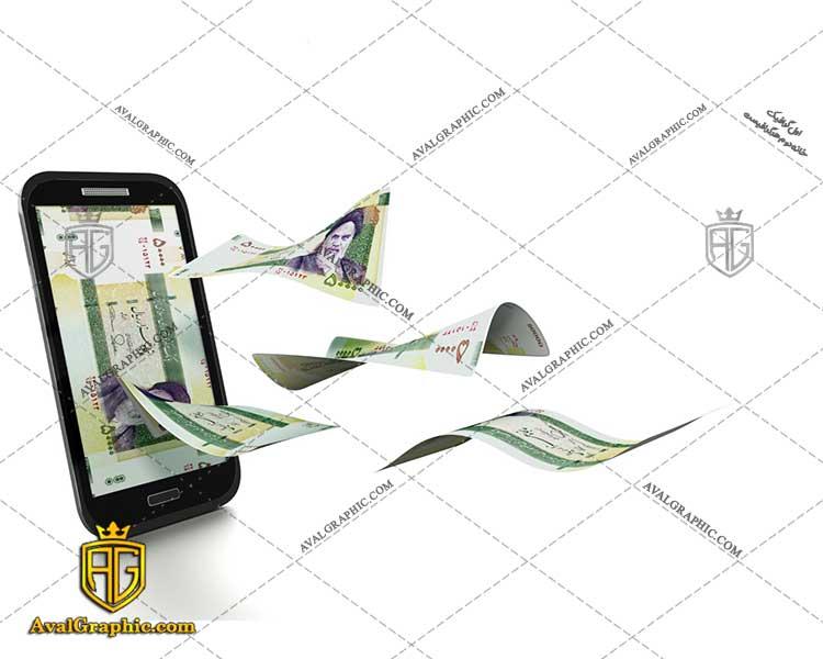 عکس با کیفیت کسب در آمد از موبایل مناسب برای طراحی و چاپ کیسه پول است- عکس پول - تصویر پول - شاتر استوک پول - شاتراستوک پول