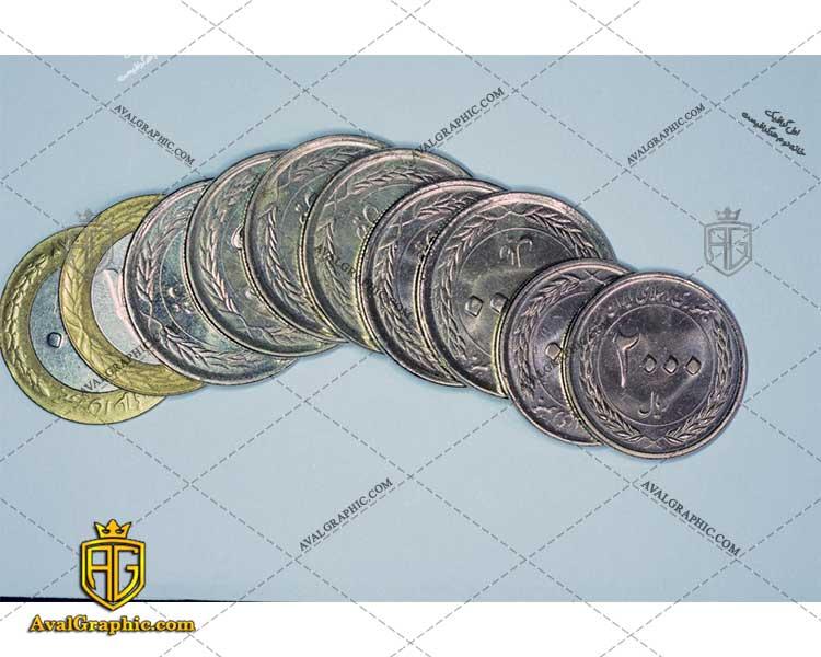 عکس سکه ی دو هزار ریالی رایگان مناسب برای چاپ و طراحی با رزو 300 - شاتر استوک سکه - عکس با کیفیت سکه - تصویر سکه - شاتراستوک سکه