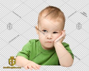 png پسر بچه متفکر , پی ان جی پسر , دوربری بچه , عکس کودک خردسال با زمینه شفاف, کودک پسر با فرمت png