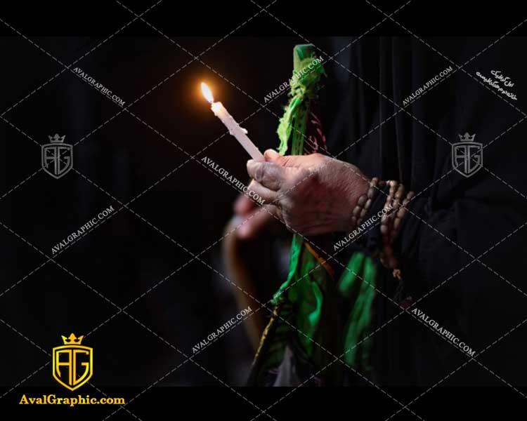 عکس با کیفیت شمع و تسبیح مناسب برای طراحی و چاپ - عکس شام غریبان - تصویر شام غریبان- شاتر استوک شام غریبان- شاتراستوک شام غریبان