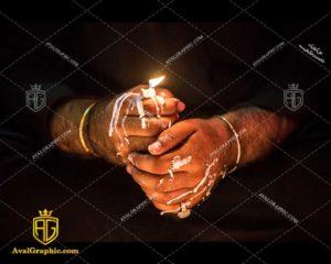 عکس با کیفیت شمع آب شده شام غریبان مناسب برای طراحی و چاپ - عکس شام غریبان - تصویر شام غریبان- شاتر استوک شام غریبان- شاتراستوک شام غریبان