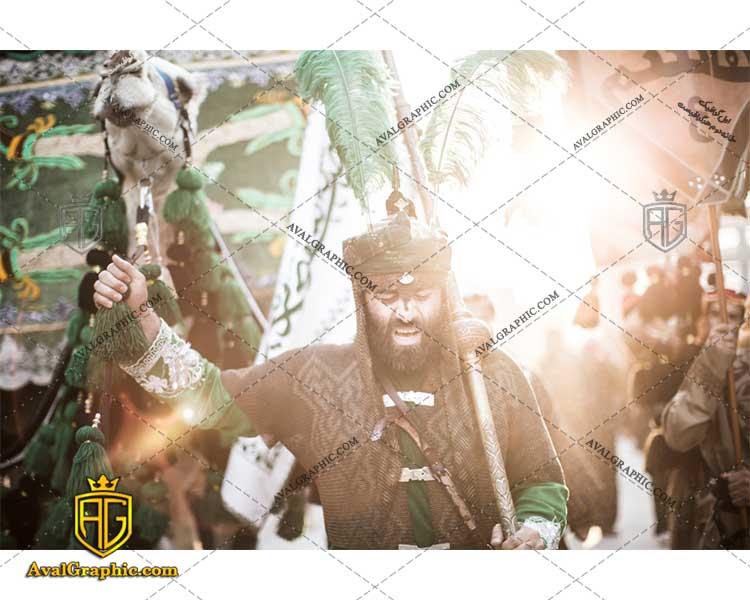 عکس با کیفیت تعزیه ی حسینی مناسب برای طراحی و چاپ - عکس تعزیه - تصویر تعزیه - شاتر استوک تعزیه - شاتراستوک تعزیه