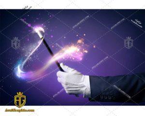 عکس با کیفیت چوب حقه بازی مناسب برای طراحی و چاپ - عکس شعبده باز- تصویر شعبده باز- شاتر استوک شعبده باز شاتراستوک شعبده