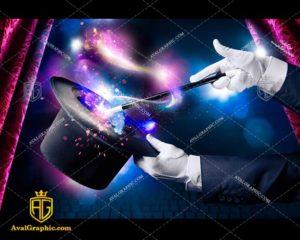 عکس با کیفیت شعبده بازی در سیرک مناسب برای طراحی و چاپ - عکس شعبده باز- تصویر شعبده باز- شاتر استوک شعبده باز شاتراستوک شعبده