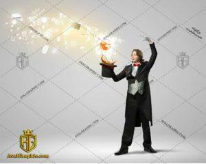 عکس با کیفیت کلاه مشکی و تردستی مناسب برای طراحی و چاپ - عکس شعبده باز- تصویر شعبده باز- شاتر استوک شعبده باز شاتراستوک شعبده باز