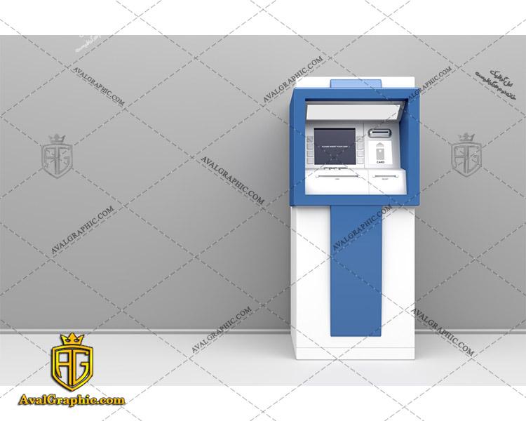 عکس با کیفیت خودپرداز سیار آبی مناسب برای طراحی و چاپ - عکس خودپرداز - تصویر خودپرداز - شاتر استوک خودپرداز - شاتراستوک خودپرداز
