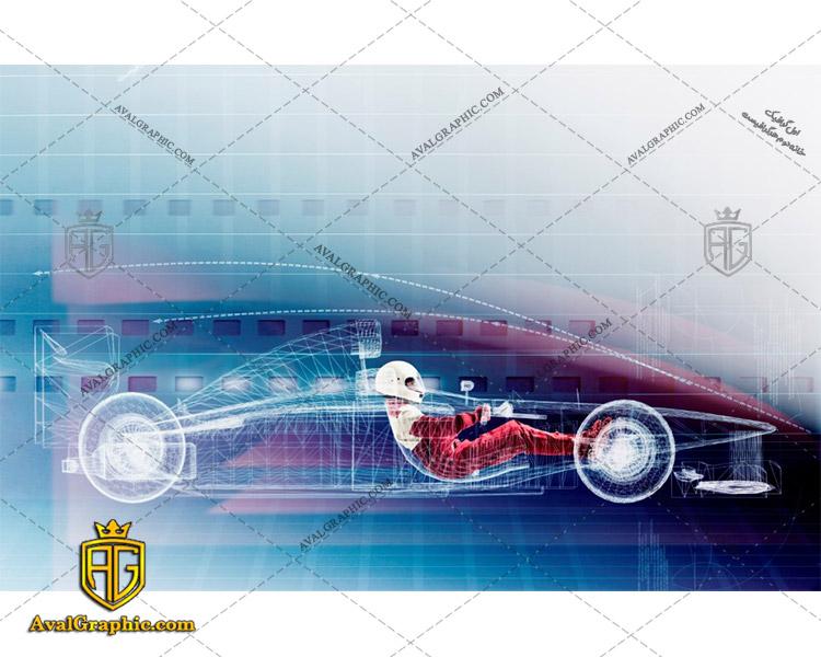عکس با کیفیت طراحی ماشین مسابقه مناسب برای طراحی و چاپ - عکس ماشین - تصویر ماشین - شاتر استوک ماشین - شاتراستوک ماشین