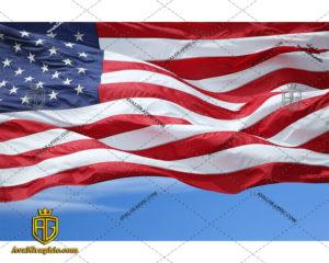عکس با کیفیت پرچم آمریکا مناسب برای طراحی و چاپ - عکس پرچم - تصویر پرچم - شاتر استوک پرچم - شاتراستوک پرچم
