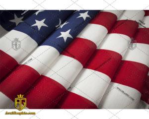 عکس با کیفیت پرچم تمیز آمریکا مناسب برای طراحی و چاپ - عکس پرچم - تصویر پرچم - شاتر استوک پرچم - شاتراستوک پرچم
