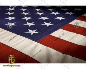 عکس با کیفیت پرچم رسمی آمریکا مناسب برای طراحی و چاپ - عکس پرچم - تصویر پرچم - شاتر استوک پرچم - شاتراستوک پرچم