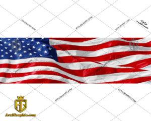 عکس با کیفیت پرچم بزرگ آمریکا مناسب برای طراحی و چاپ - عکس پرچم - تصویر پرچم - شاتر استوک پرچم - شاتراستوک پرچم