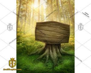 عکس با کیفیت تابلو چوبی مناسب برای طراحی و چاپ - عکس تابلو - تصویر تابلو - شاتر استوک تابلو - شاتراستوک تابلو