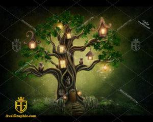 عکس با کیفیت درخت آباژور مناسب برای طراحی و چاپ - عکس درخت - تصویر درخت - شاتر استوک درخت - شاتراستوک درخت