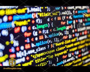 عکس با کیفیت کدهای برنامه نویسی مناسب برای طراحی و چاپ - عکس برنامه - تصویر برنامه - شاتر استوک برنامه - شاتراستوک برنامه