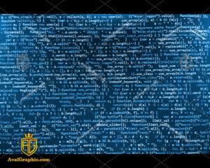 عکس با کیفیت کدهای آبی مناسب برای طراحی و چاپ می باشد - عکس کد - تصویر کد - شاتر استوک کد - شاتراستوک کد
