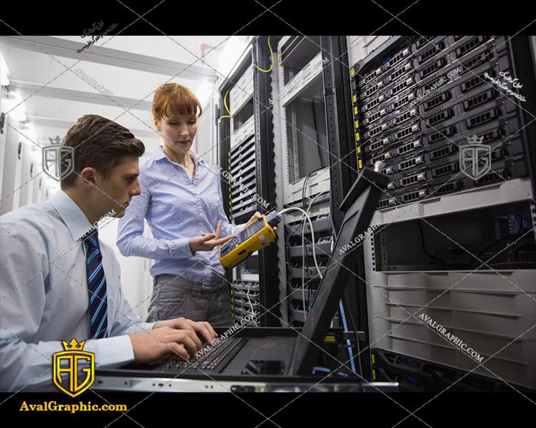 عکس با کیفیت مهندسان شبکه مناسب برای طراحی و چاپ - عکس شبکه - تصویر شبکه - شاتر استوک شبکه - شاتراستوک شبکه