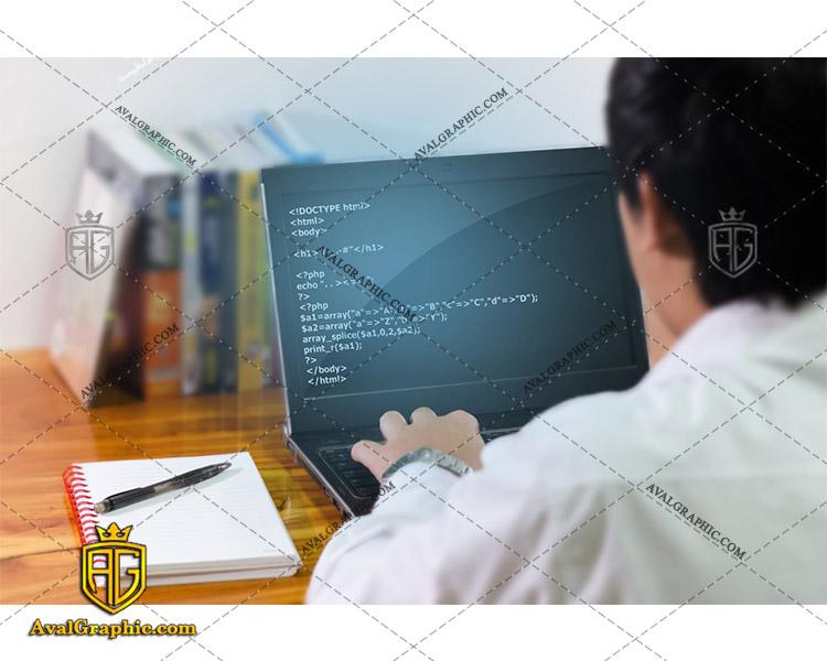 عکس با کیفیت آقای برنامه نویس مناسب برای طراحی و چاپ - عکس برنامه نویس - تصویر برنامه نویس - شاتر استوک برنامه نویس - شاتراستوک برنامه نویس
